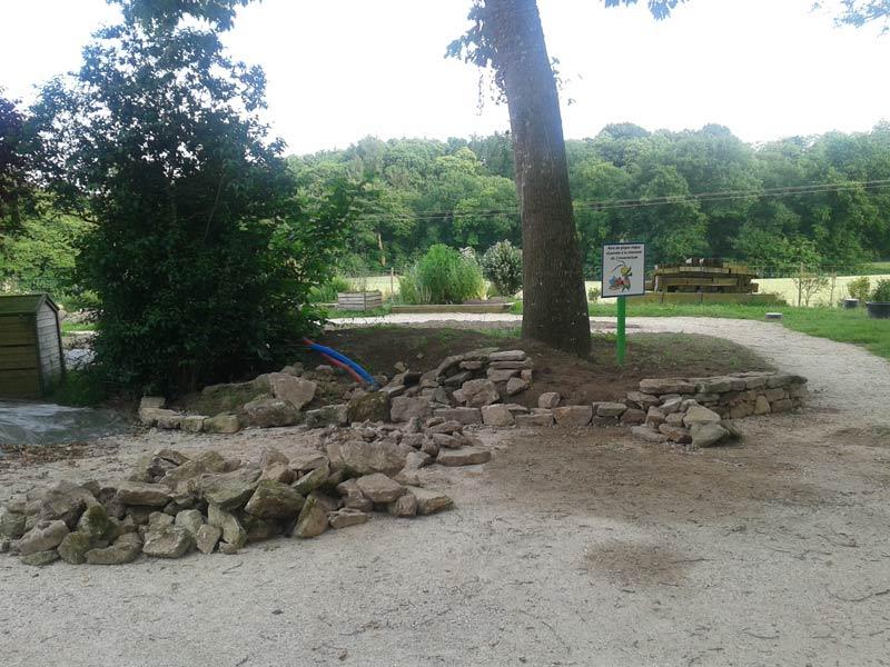 Les aménagements extérieurs - Insectarium de Lizio, parc zoologique des petites bêtes en Bretagne.