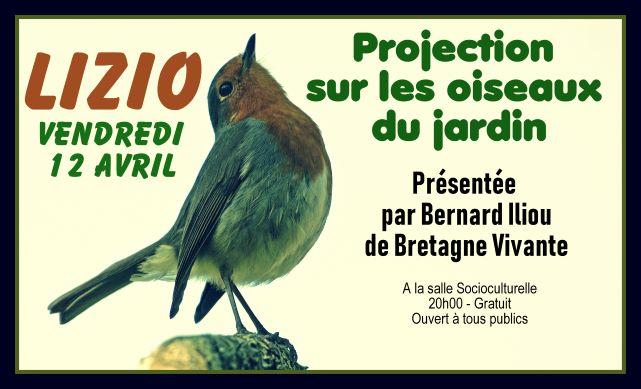 Conférence Oiseaux du jardin - 12 avril - Bretagne Vivante